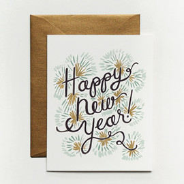 Rifle Paper Co. - Happy New Year Card