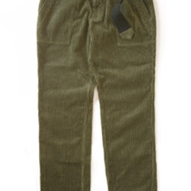 PEEL&LIFT - Stripe Cord Army Trousers (olive)