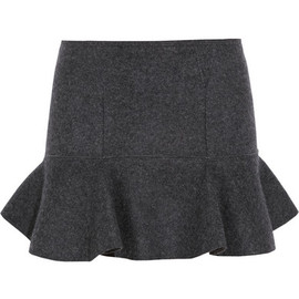 Isabel Marant - Freja merino wool-felt mini skirt