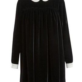 MEADHAM KIRCHHOFF - Velvet Babydoll Dress