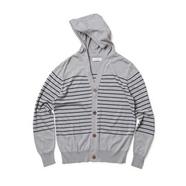 HEAD PORTER PLUS - BORDER CARDIGAN