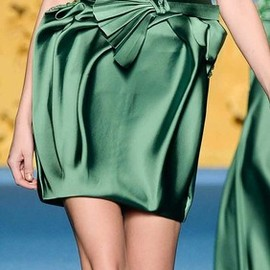 Mireille Dagher - Mireille Dagher Spring 2014 Haute Couture Collection, Deep Into the Blue, featured during Altaroma.