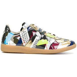 Maison Margiela - patchwork Replica sneakers