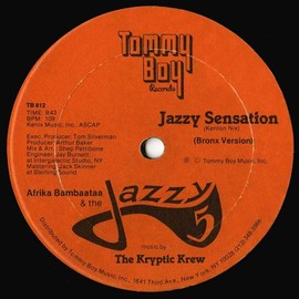 Afrika Bambaataa & The Jazzy 5 / Kryptic Krew - Jazzy Sensation
