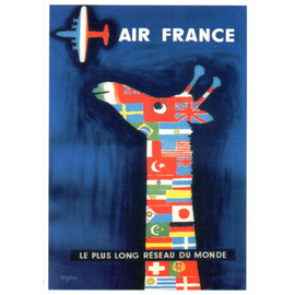 Raymond Savignac - AIR FRANCE