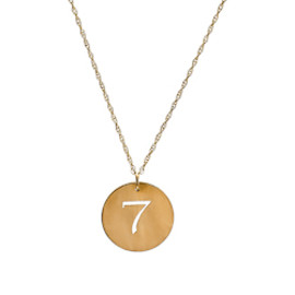 West Avenue Jewels Lucky Number Necklace