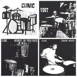 Clinic - 3EPs - Monkey On Your Back / Cement Mixer / Voot
