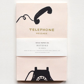 RIFLE PAPER - Vintage Telephone Notepad