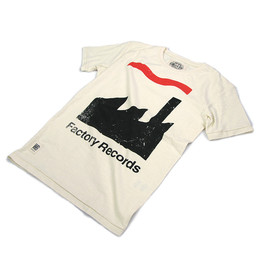 5minutes - Worn By(ウォーン バイ)プリントTシャツ 「Factory Records」
