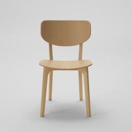 MARUNI WOOD INDUSTRY INC. - 2000_30 Roundish Armless chair