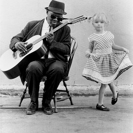 Reverend Gary Davis - Reverend Gary Davis and dancer.