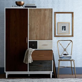 west elm - Patchwork Armoire
