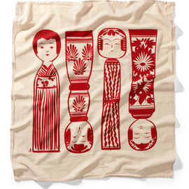 House Industries - House Industries Kokeshi Flour Sack Towel