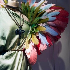 Lanvin - Birds of Paradise  An explosion of colours -