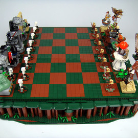 LEGO - Star Wars - Return Of The Jedi Chess Set