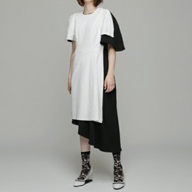 ANREALAGE - SHADOW CUT&SEWING ONEPIECE
