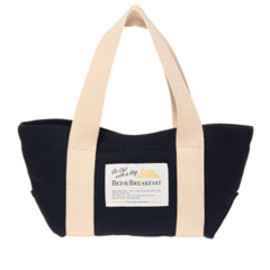 BED&BREAKFAST - Sail Cloth Bag 小