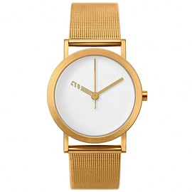 NORMAL - 腕時計「EXTRA NORMAL – GOLD WHITE DIAL」
