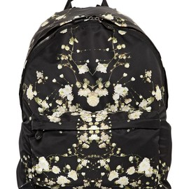 GIVENCHY - SS2015 FLORAL PRINTED NYLON BACKPACK