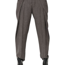 Maison Martin Margiela - FW2014 FOLDED WOOL TROUSERS