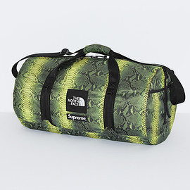 Supreme, THE NORTH FACE - Snakeskin Flyweight Duffle Bag