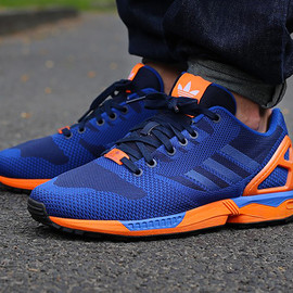 adidas - ZX Flux Weave Blue/Orange