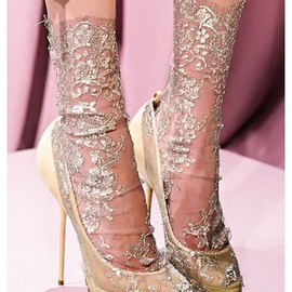 Christian Louboutin - for Marchesa