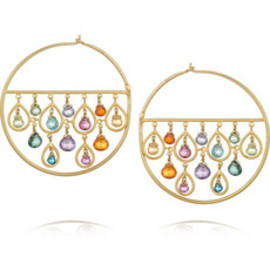 Marie-Hélène de Taillac - 1001 Night hoop earrings