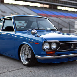 Datsun - Advan Oni on Bluebird SSS Coupe