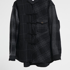 NADA. - Crazy wool check shirts