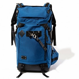 AS2OV - 【S (アッソブ)  EXCLUSIVE BALLISTIC NYLON BACK PACK - 061301 BLUE