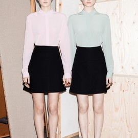 & Other Stories - pastel shirts | Inspiration
