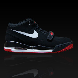 Nike - Air Alphalution - Black/White/Varsity Red?