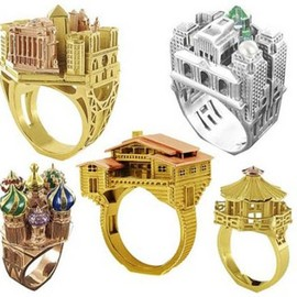 Philipe Tournaire - Architecture Rings