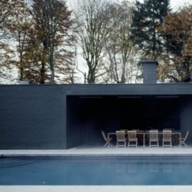 Vincent Van Duysen - Pool and Poul House Outside Dinning Room