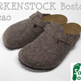 BIRKENSTOCK - BOSTON CACAO WOOL