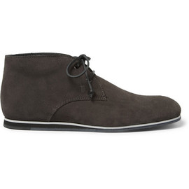 Tod's - Rubber-Sole Suede Desert Boots