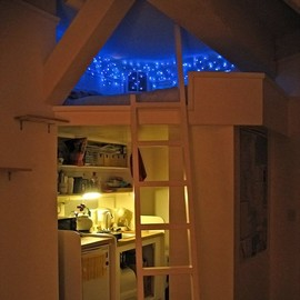 Blue LED Fairy Lights