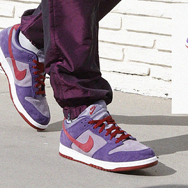 NIKE - Dunk Low Pro B - Daybreak/Barn/Plum