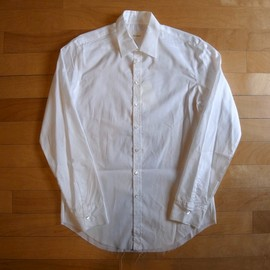 """The Letters - Classical Regular Shirt """"White"""""""