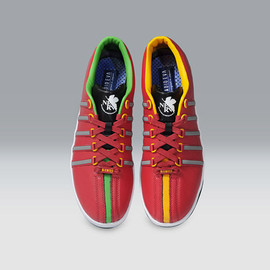 K-SWISS - K・SWISS THE CLASSIC (EVANGELION Limited) (Production 02 [レッド]) - main image
