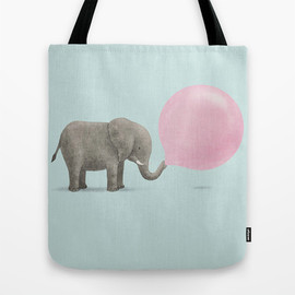 Society6 - Jumbo Bubble Tote Bag