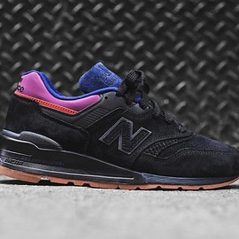 New Balance - 997 - Black/Magnet