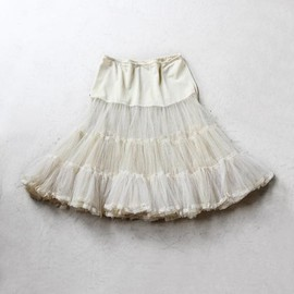 Vintage Tulle Lace Skirt