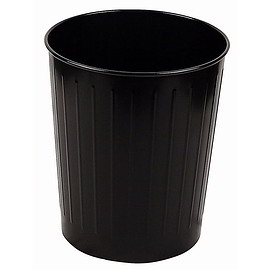 Witt Industries - 26 Quart Round Metal Wastebasket