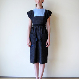 COSMIC WONDER - Kurume-Kasuri Jinbei Dress