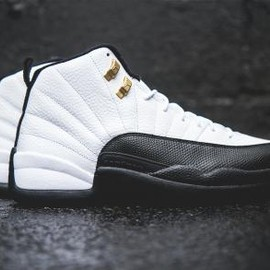 Nike - NIKE AIR JORDAN XII RETRO WHITE/BLACK-TAXI-VARSITY RED