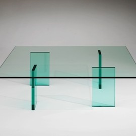 Shiro Kuramata 倉俣史朗, Glas Italia - Glass Table, 1976