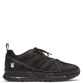 BURBERRY - SS2019 RS5 low-top mesh and nubuck trainers