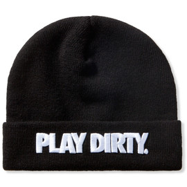Undefeated - Black Play Dirty New Era Beanie